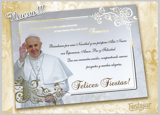 Frases Del Papa Francisco De La Navidad.Festejar Tarjetas Para Momentos Inolvidables